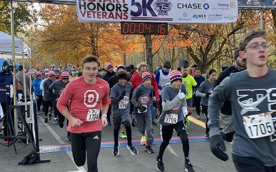 Sun shines on 9th Rotary Honors Veterans 5K