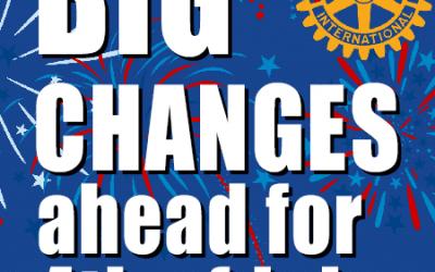Big changes