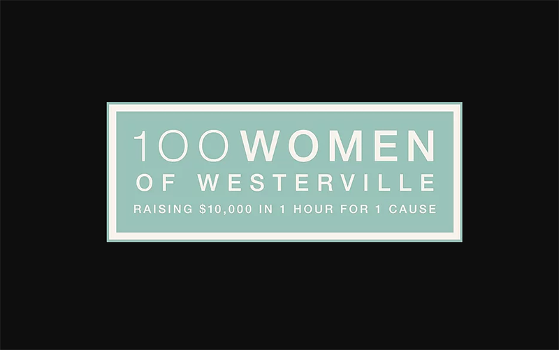 2021 Courtright goes to 100 Women of Westerville