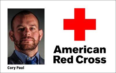 Cory Paul of Red Cross is speaker for June 3 lunch